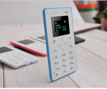 4.8 мм ультра тонкий AIEK M5 карты мобильных телефонов мини карманные студенты личности телефон самый тонкий телефон карты