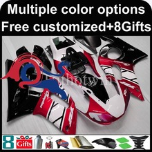 Buy red white black motorcycle cowl Yamaha YZF-R6 1998-2002 98 99 00 91 92 YZFR6 1998 1999 2000 2001 2002 ABS Plastic Fairing for $333.00 in AliExpress store