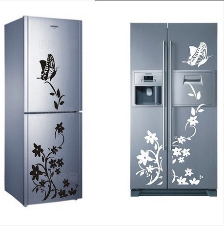 Morden butterfly flower wall stickers home decor wall for Stickers decorativos de pared