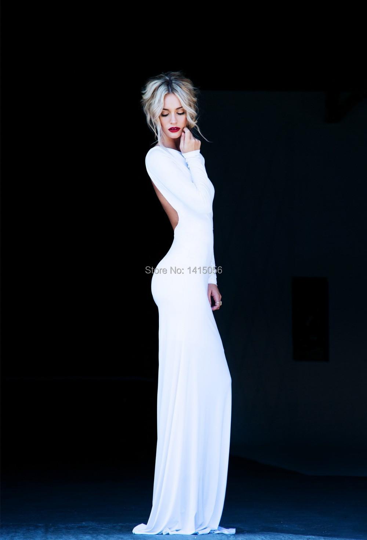 White Dress Low Cut White Dress Low Cut Back