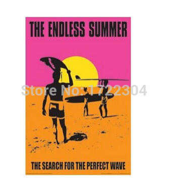 THE ENDLESS SUMMER Poster Classic 50x75CM Wall Sticker Free Shipping(China (Mainland))