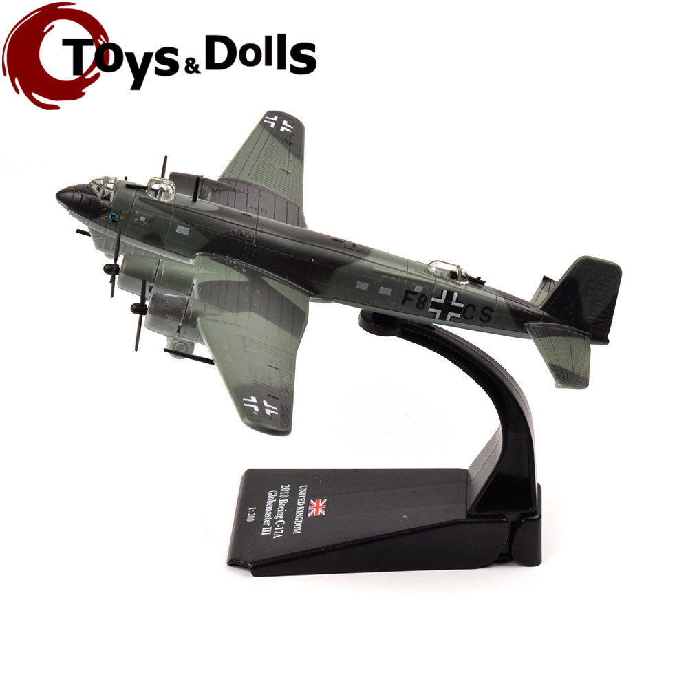 AMER 1/144 United Kingdom 2010 Boeing C-17A Airplane Model Toys For Kids Toys Gifts Alloy Diecast Model Airplane Model Toys(China (Mainland))
