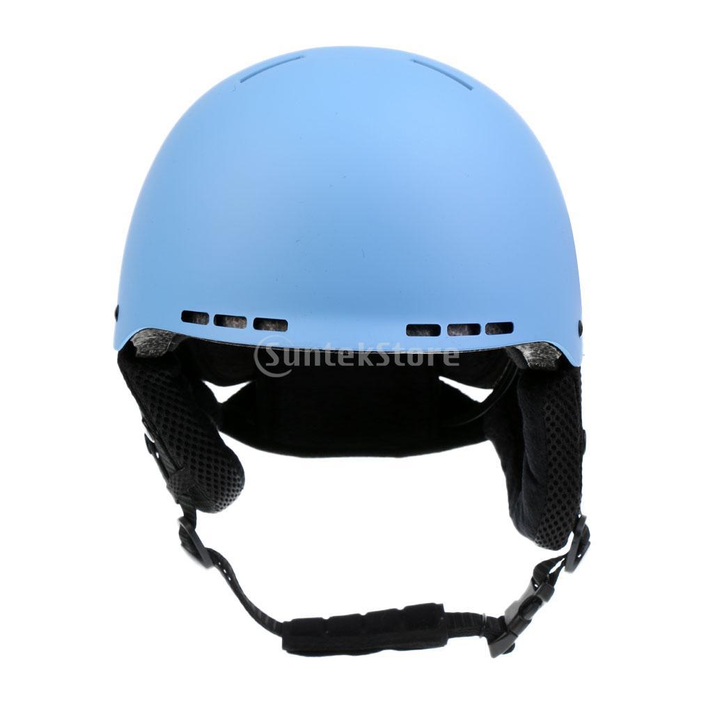 Adult Unisex Ski Vented Helmet Snowboarding Snow Warm Winter Sports Men Women Skating Skateboard Skiing Safety Protective Cap