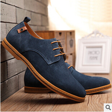 2015 New Brand Genuine Leather Casual Men's Shoe Matching Flat Board Shoes Men Driving Shoes Masculino Size 38-48 MS01(China (Mainland))