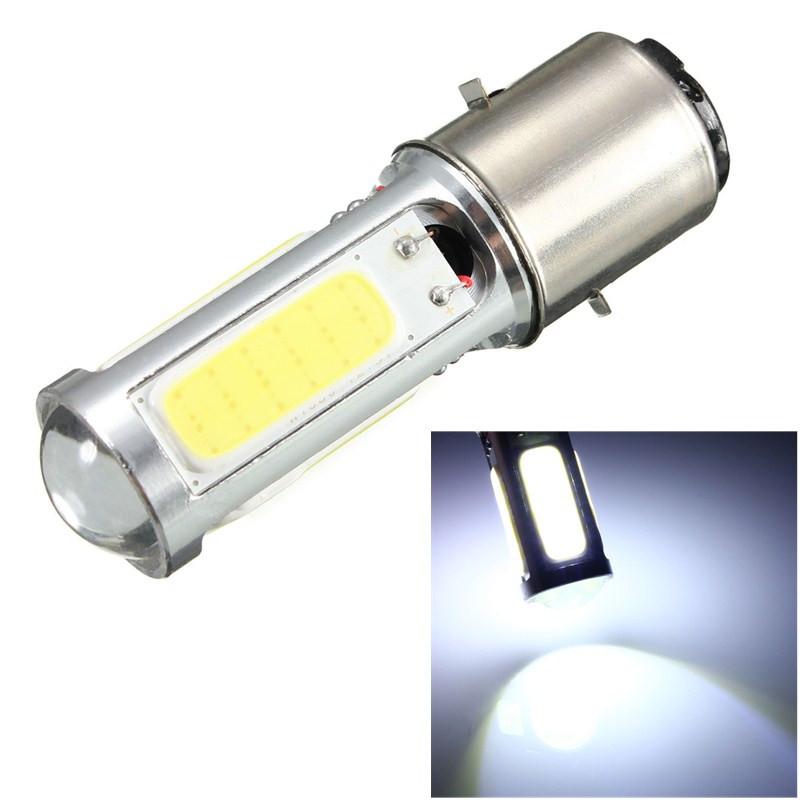 2016 High Quality New Arrival White COB LED Motor Bike/Moped/ATV Headlight Headlamp Bulb Fog Light DRL BA20D H6 E301<br><br>Aliexpress