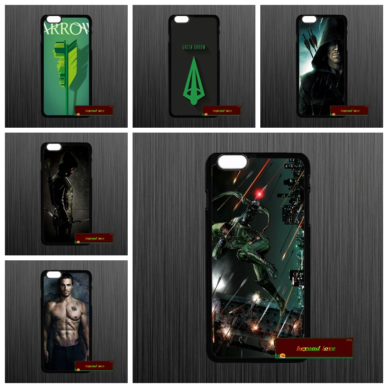League Green Arrow Oliver Queen Phone Cases Cover iPhone 4 4S 5 5S 5C SE 6 6S 7 Plus 4.7 5.5 AM1047  -  zhu xiao bo store
