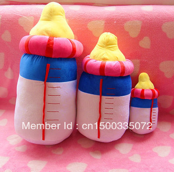 Child graduation gift plush toy big bottle pillow cushion kaozhen Large