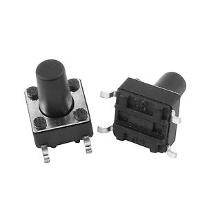 100 x Momentary Tact Tactile Push Button Switch SMD SMT Surface Mount 6x6x9mm(China (Mainland))