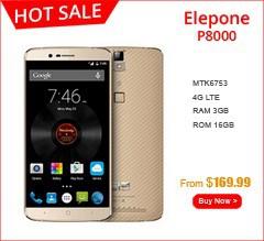 Original Elephone P8000 4G LTE Mobile Phone 5.5