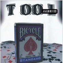 Envío gratis Davidstone bicicleta herramienta de tarjetas de trucos de magia magia prop con tarjetas de bicicletas