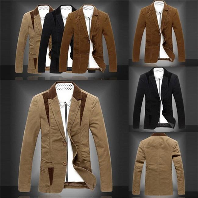 Men-s-Patchwork-Blazers-Plus-Size-M-4XL-2015-New-Arrival-Designer-Brand-Casual-Fashion-Slim
