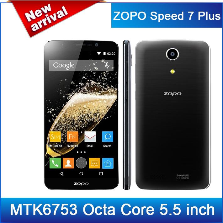 "-$17 Discount!Original ZOPO Speed 7 Plus MTK6753 Octa Core 4G LTE Mobile Phone 5.5"" 1920x1080 3GB RAM 13.2MP Android 5.1(China (Mainland))"