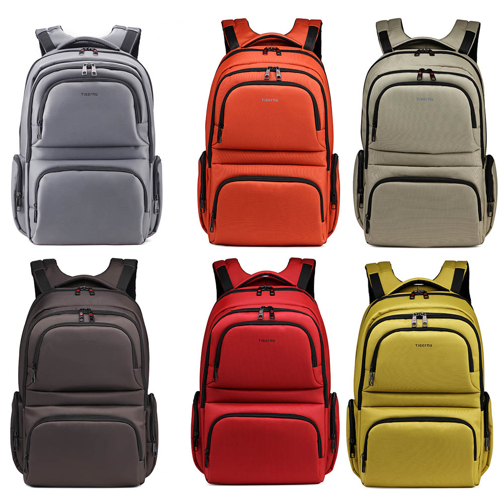 Brand Waterproof Nylon Multifunction Laptop Bag Backpack Men and Women for 15 15.6 17 Notebook Business Computer Notebook Bag<br><br>Aliexpress