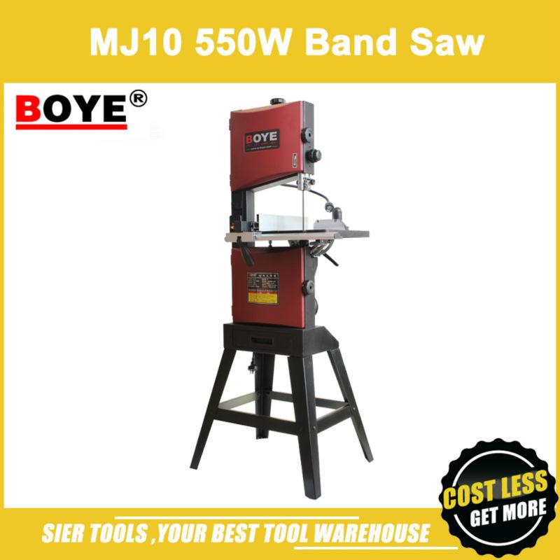 """MJ10 550W Band Saw Machine/BOYE 10"""" Woodworking Band-sawing Machine(China (Mainland))"""