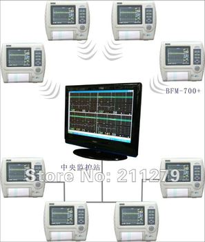 CE Portable Fetal Maternal Monitor BFM-700+ TFT  ( Twin, Color LCD )