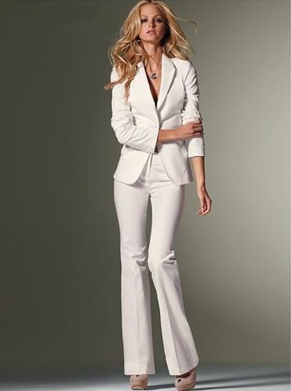 Popular White Woman Pants Suits-Buy Cheap White Woman Pants Suits ...