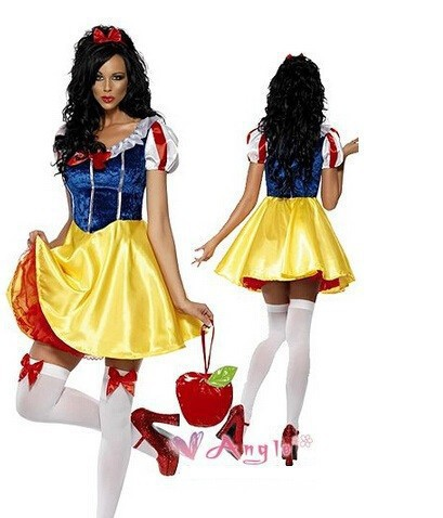 Adult Snow White Halloween Costume Plus Size Adult Snow White