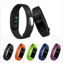 In stock Heart rate monitor smart wristband Bluetooth 4.0 smart band Distance track Anti-lost smart bracelet pk mi band 2 1s(China (Mainland))