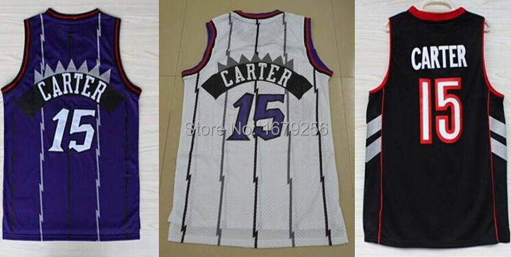 Cheap mens 15 Vince Carter jersey black blue white Rev 30 Throwback basketball Embroidery logos Best quality Aimee Smith Store(China (Mainland))