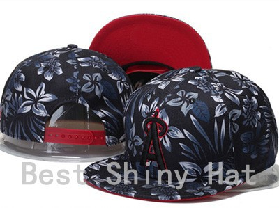 2015 Men's Full Floral Print Los Angeles Angels of Anaheim Snapback Cap Embroidery Logo Sports Team Baseball Adjustable Hat(China (Mainland))
