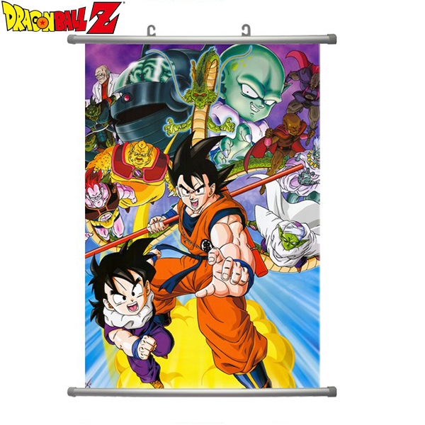 hot 2015 new japan anime poster for wall decoration living On dragon ball z living room