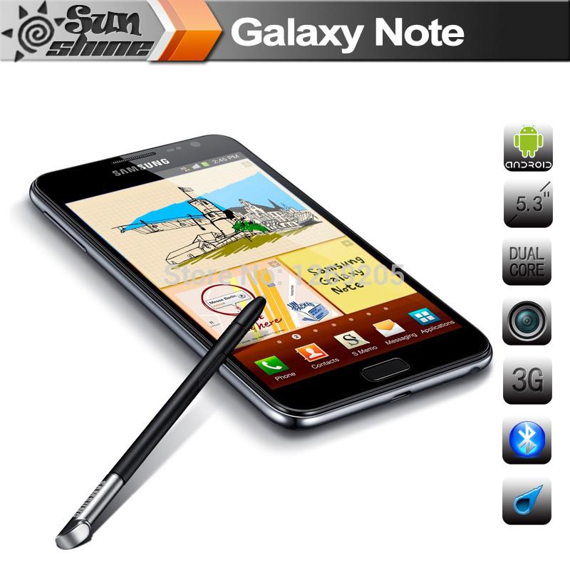 "Original Samsung Galaxy Note i9220 N7000 Mobile Phone 5.3"" Dual Core Smartphone 8MP GPS WCDMA Refurbished Phone Cell Phones(China (Mainland))"