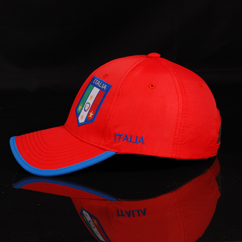 2014 World Cup Team Hat Italian national team cap manufacturers custom embroidery football cap wholesale authentic(China (Mainland))