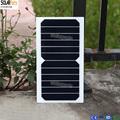 Solarparts 5pcsx 6V 6W high bendable flexible solar panel solar module with soldering ribbons DIY