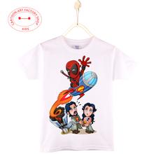 Bring that back SPIDER MAN MARVEL COMICS kids t-shirt Cartoon Print 100% cotton boys short Sleeve t shirt tops tee Free shipping