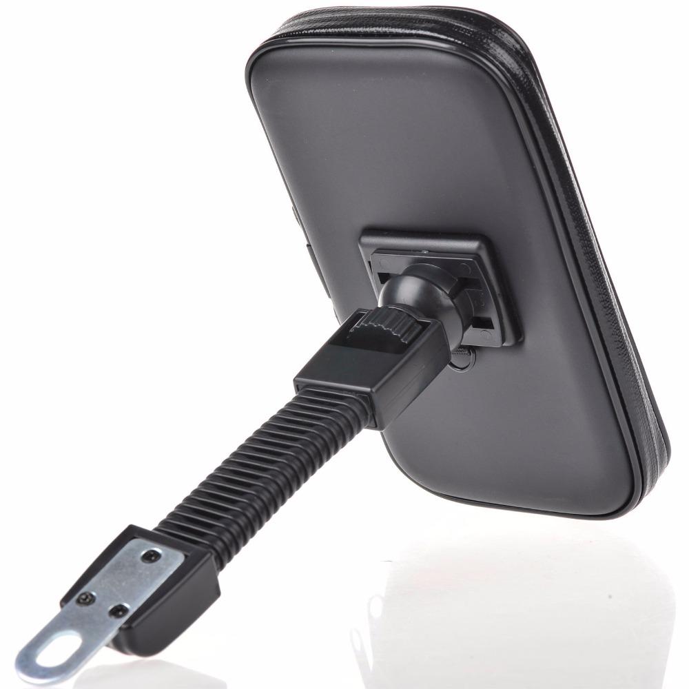 motorcycle phone holder mobile phone stand mount support for iphone 4 5s 6 plus gps bike holder. Black Bedroom Furniture Sets. Home Design Ideas