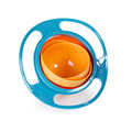 New Arrival Hot Sales New Children Kid Baby Toy Universal 360 Rotate Spill Proof Bowl Dishes