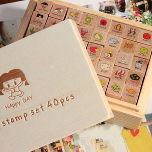 DIY stamps unique gift for girls diary stamp lembrancinha de festa infantil crafts and scrapbooking rubber stamp(China (Mainland))