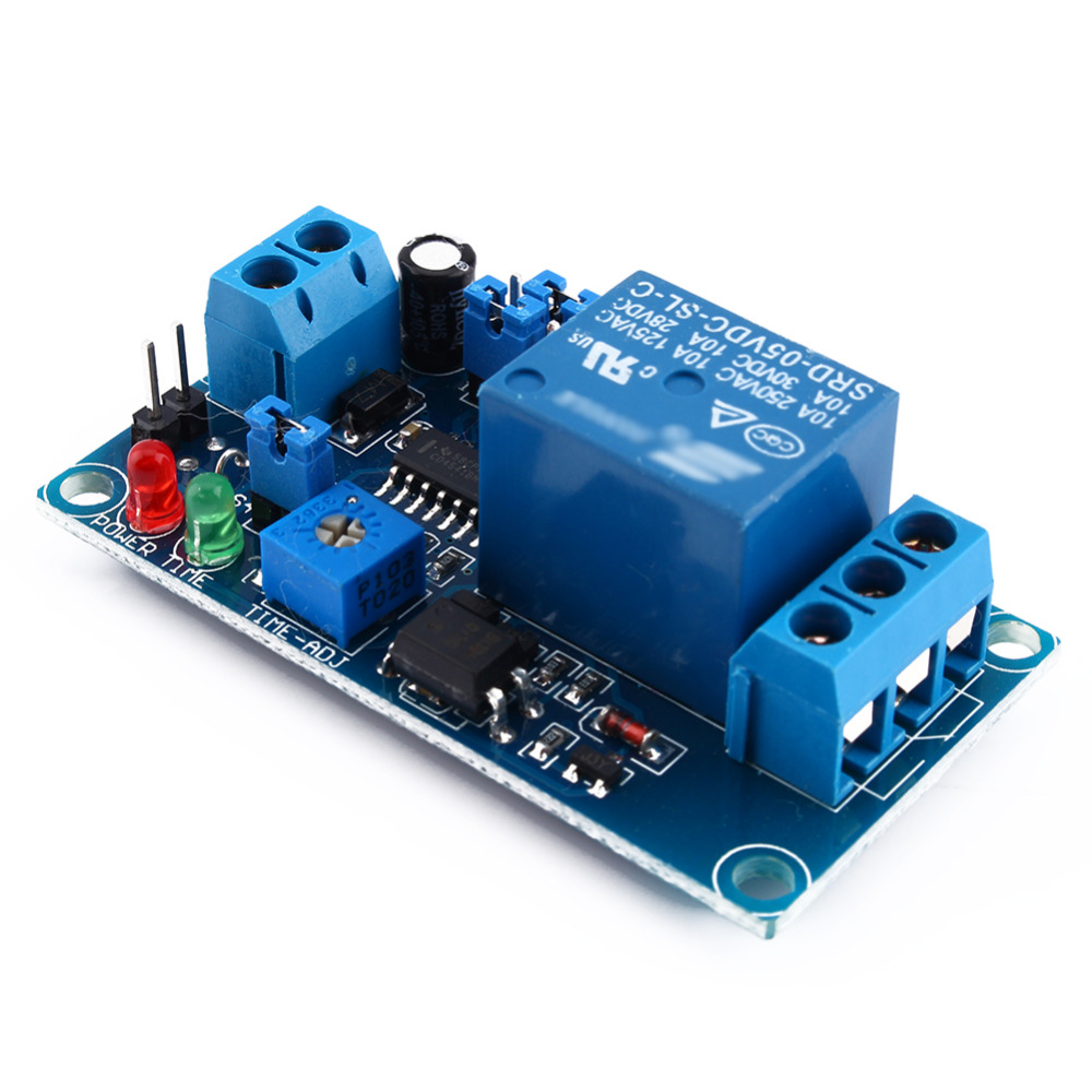 DC 5V Delay Relay Delay with Timer Turn on Delay Turn off Switch Module(China (Mainland))