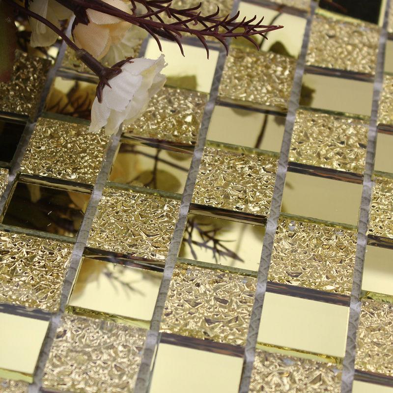 Crystal glass backsplash kitchen tile mosaic design art for Tile decor international pvt ltd