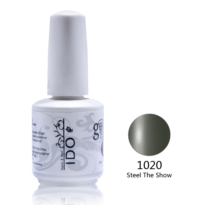 12pcs free shipping uv nail gel polish High quality extension builder uv gel nail polish Color uv gel Free shipping(China (Mainland))