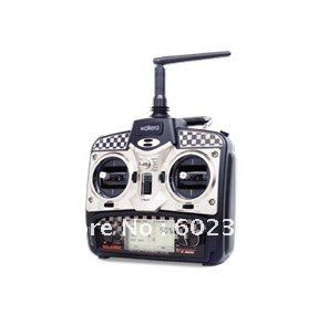 Wholesale – Newest  Walkera WK-2402 Transmitter 2.4G 4ch remote control WK2402 for Walkera CB180Q 4ch rc helicopter toy gift