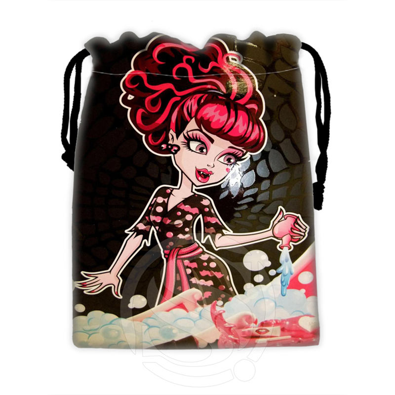 H-P768 Custom Monster high#12 drawstring bags for mobile phone tablet PC packaging Gift Bags18X22cm SQ00806#H0768(China (Mainland))