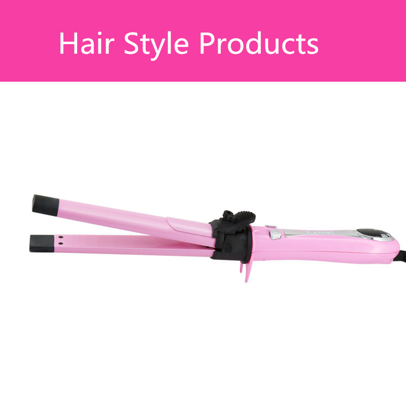 2015 New Hot 2 In1 Hair Curler Roller Straightener Not to Hurt the Hair Flat Straight Iron Portable Ceramic Salon<br><br>Aliexpress