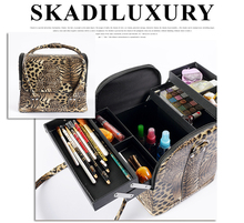 Hot Sale Portable Cute Multifunction Beauty Travel Cosmetic Bag Makeup Case Pouch 6 colors(China (Mainland))