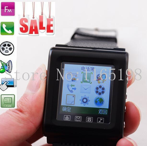 Most cheap AOKE ZAK812/GV08 Smart Watch Phone Single-CORE 1.44 inch Support FM / GPRS / Bluetooth function Smart phone Watches(China (Mainland))