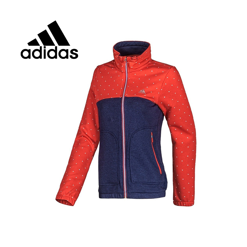 Original Adidas women's jacket Hooded spring Sportswear free shipping