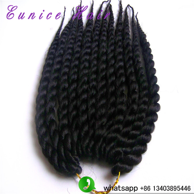 2016 Hot New Products 12inches havana mambo twist crochet braids hair ...