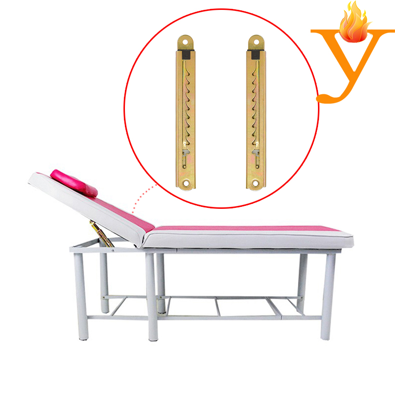 Multi-functional Furniture Hardware 10 Positions Slider Hinge For Medical Bed D40(China (Mainland))