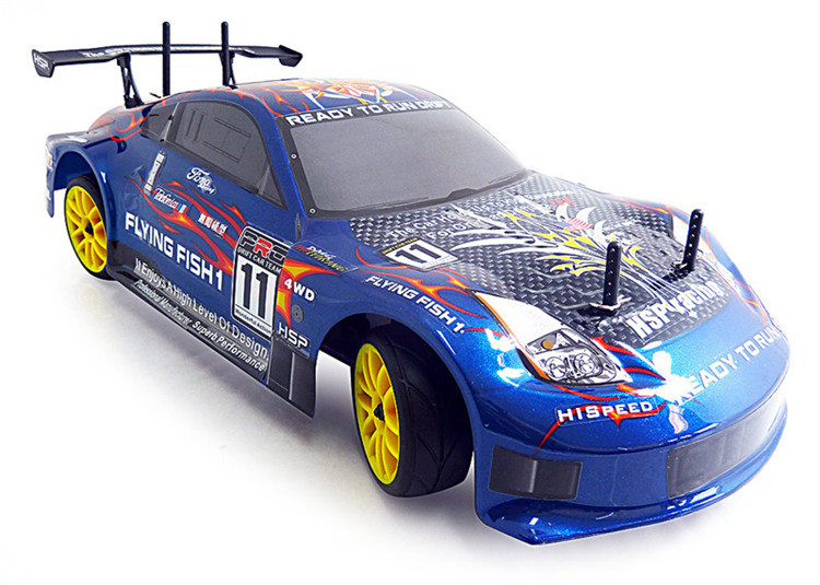 HSP Rc Car 4wd Nitro Gas Power Remote Control Car 1/10 Scale On Road Touring Racing 94122 Xstr High Speed Hobby Drift Car(China (Mainland))