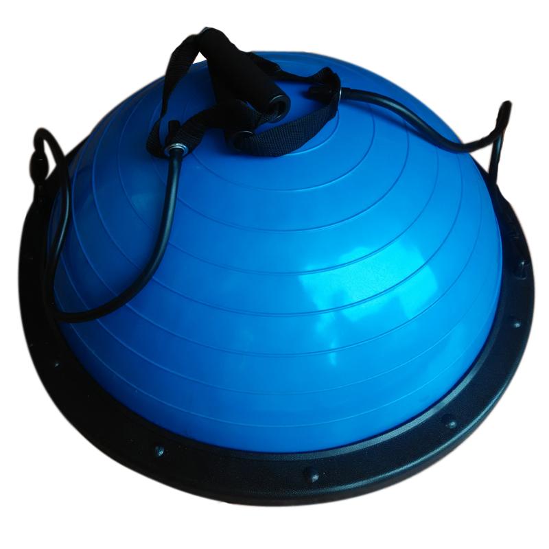 Half Fitness Yoga Bosu Ball Fitball Balance Trainer Stabilizer GYM Pilates Fitness Balancing Bosu Ball(China (Mainland))