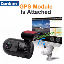 Original Mini 0805 Full HD Video Recorder Car Camera DVR Ambarella A7LA50 1080P 1296P SOS+GPS Optional Car Video Recorder(China (Mainland))