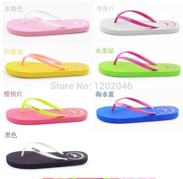 Lastest WomenSandalsShoes2014NewSummerFashionSlippersFlopsFlatShoes