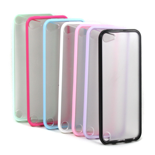 Slim Matte Skin Hard Case Cover TPU Frame For iPod Touch 5 5th(China (Mainland))