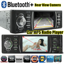 3.6'' inch 1080P HP Movie Player 12V Car radio bluetooth MP5 car audio MP4 Audio Support Rear View Camera USB/SD MMC In-Dash(China (Mainland))