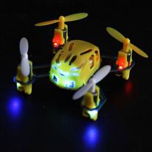 HUBSAN Q4 H111 Nano Quad Copter Drone 2.4ghz Mini Drone RTF- Yellow-UK Shipping